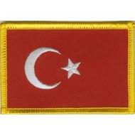 Patch Turkije vlag patch