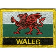 Patch Wales flag patch