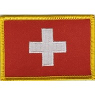Patch Zwitserland Swiss flag Patch