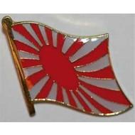 Speldje Japan Rising Sun vlag speldje