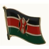 Speldje Kenya flag lapel pin