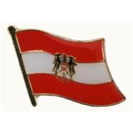 Speldje Austria State flag lapel pin