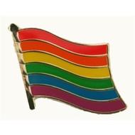 Speldje Rainbow flag lapel pin