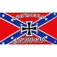 Vlag Confederates Chopper flag