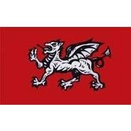 Vlag England Dragon flag