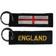 Sleutelhanger / Keyring Engeland vlag sleutelhanger