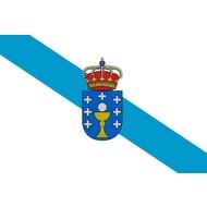 Vlag Galicia region flag