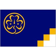 Vlag Girl Guides Scout Padvinder