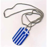 Dog Tag Griekenland vlag dog tag