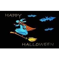 Vlag Halloween heks