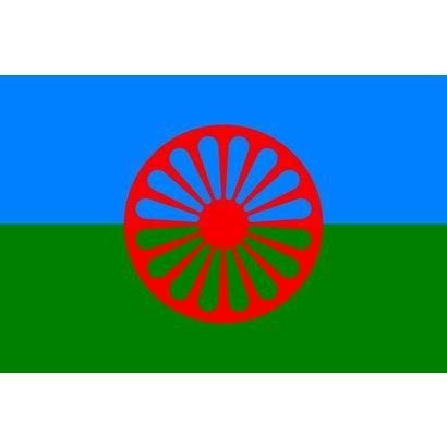 Vlag Gypsy Romany flag