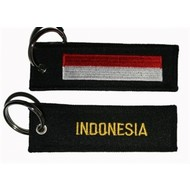 Sleutelhanger / Keyring Indonesia flag keyring