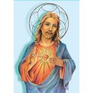 Vlag Jesus Sacred Heart Jezus