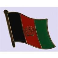 Speldje Afghanistan flag lapel pin