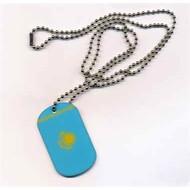 Dog Tag Kazachstan vlag dogtag