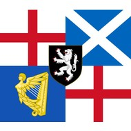 Vlag Lord Protector's Banner and Command 1658-59 vlag