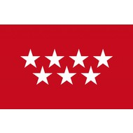 Vlag Community of Madrid flag