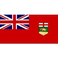 Vlag Manitoba Province flag