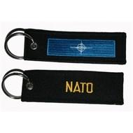 Sleutelhanger / Keyring NATO NAVO sleutelhanger vlag