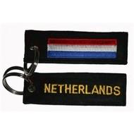Sleutelhanger / Keyring Netherlands flag Keyhanger keyring