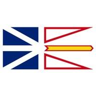 Vlag Newfoundland and Labrador Province flag