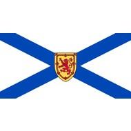 Vlag Nova Scotia province flag