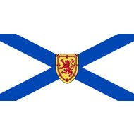 Vlag Nova Scotia vlag