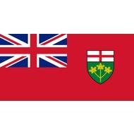Vlag Ontario Province flag