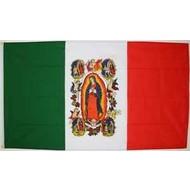 Vlag Onze Lieve Vrouw van Guadaloupe
