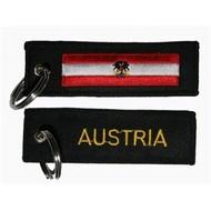 Sleutelhanger / Keyring Austria state flag Keyring Keyhanger