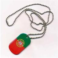 Dog Tag Portugal vlag dog tag