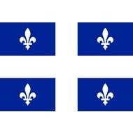 Vlag Quebec Province flag
