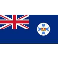 Vlag Queensland Territory flag