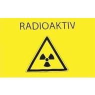 Vlag Radioaktiv Radioactive Oost Duitsland
