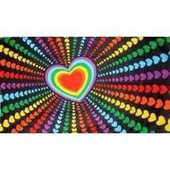 Vlag Rainbow Love Liefde