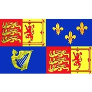 Vlag Royal Banner 1707-1714 Queen Anne