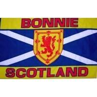 Vlag Bonnie Scotland flag