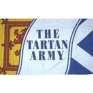 Vlag Schotland Scotland Tartan Army voetbal