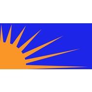 Vlag Sunburst vlag