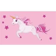 Vlag Unicorn Roze Eenhoorn