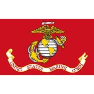 Vlag USA Marines vlag Red