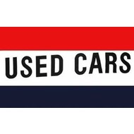 Vlag Used Cars vlag