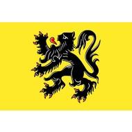 Vlag Belgium Flanders Flag
