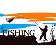 Vlag Vissen Fishing
