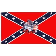 Vlag Confederate Born to be Free vlag
