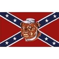 Vlag Confederate Bulldog flag
