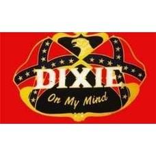 Vlag Confederate Dixie on my Mind vlag