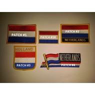 Patch Netherlands flag Patch