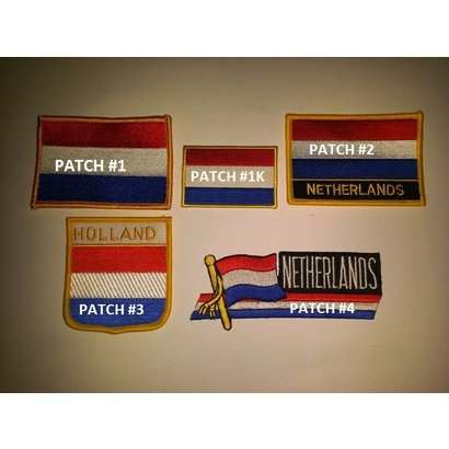Patch Nederland vlag patch