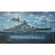 Vlag Bismarck slagschip